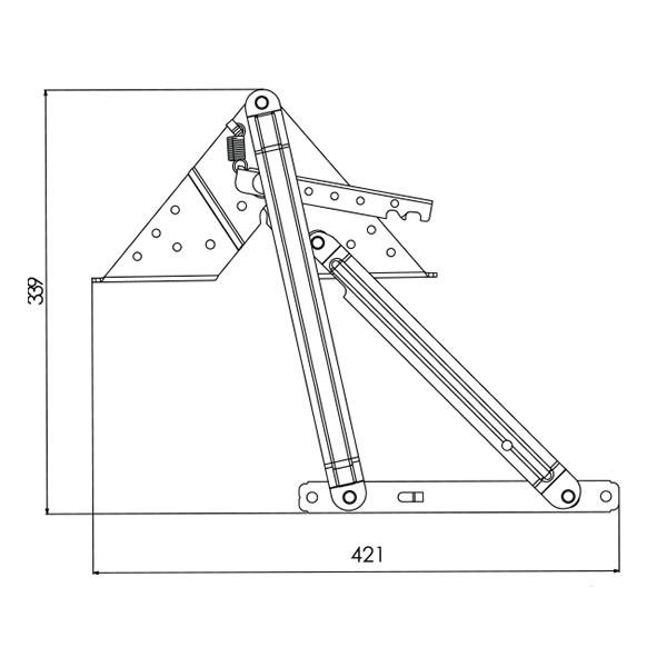 Mecanism tip greu – schita 2